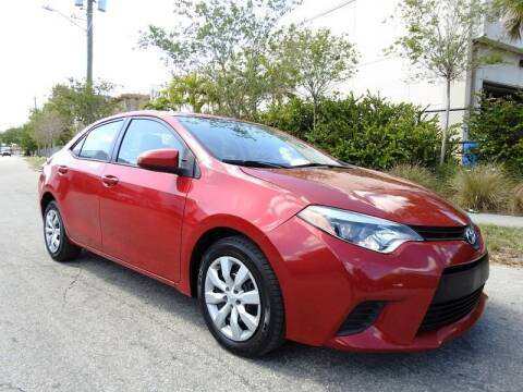 2015 Toyota Corolla for sale at SUPER DEAL MOTORS in Hollywood FL