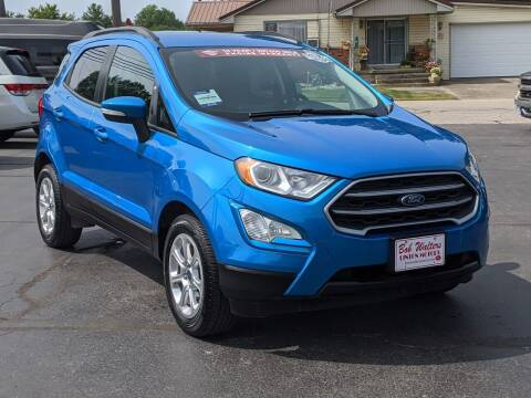 2018 Ford EcoSport for sale at Bob Walters Linton Motors in Linton IN