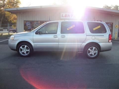 2007 Chevrolet Uplander for sale at Lentz's Auto Sales in Albemarle NC