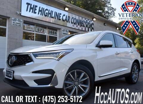 2019 Acura RDX for sale at The Highline Car Connection in Waterbury CT