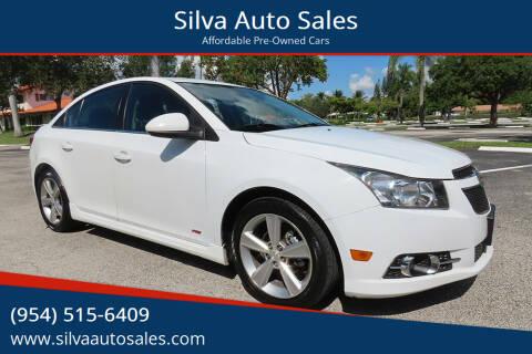 2014 Chevrolet Cruze for sale at Silva Auto Sales in Pompano Beach FL