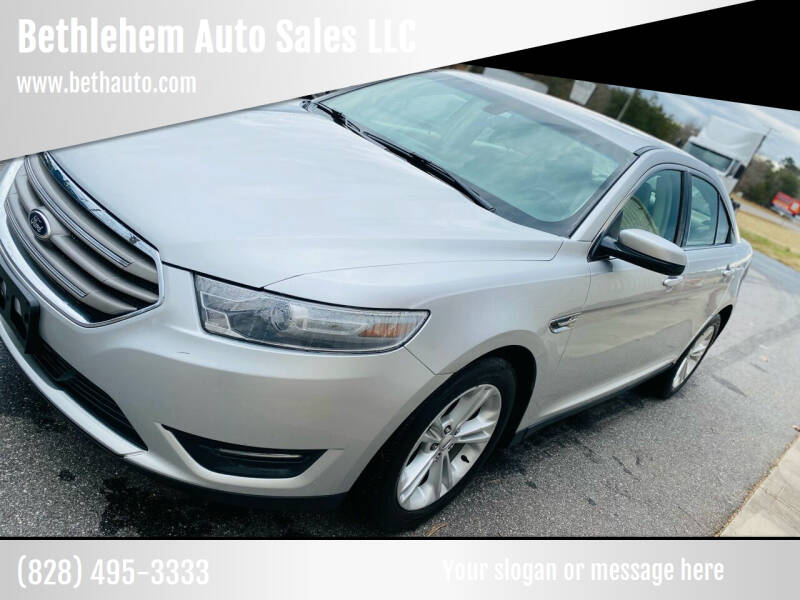 2013 Ford Taurus for sale at Bethlehem Auto Sales LLC in Hickory NC