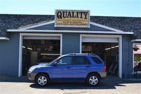 2008 Kia Sportage for sale at Quality Pre-Owned Automotive in Cuba MO