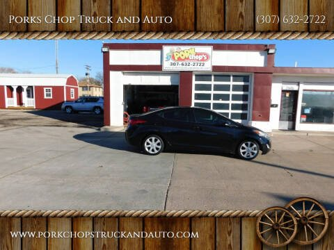2013 Hyundai Elantra for sale at Porks Chop Truck and Auto in Cheyenne WY