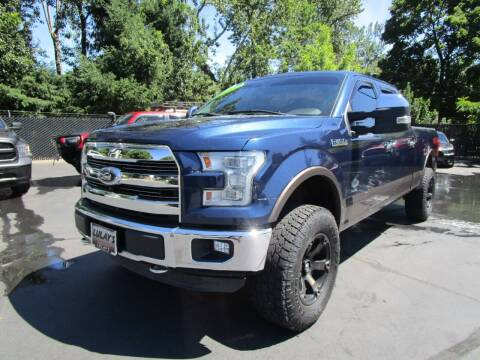2015 Ford F-150 for sale at LULAY'S CAR CONNECTION in Salem OR