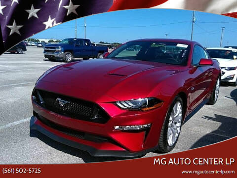 2018 Ford Mustang for sale at MG Auto Center LP in Lake Park FL