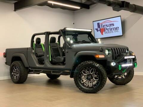 2020 Jeep Gladiator for sale at Texas Prime Motors in Houston TX