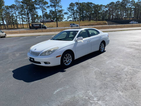 2002 Lexus ES 300 for sale at SELECT AUTO SALES in Mobile AL