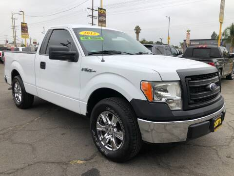 2013 Ford F-150 for sale at BEST DEAL MOTORS  INC. CARS AND TRUCKS FOR SALE in Sun Valley CA