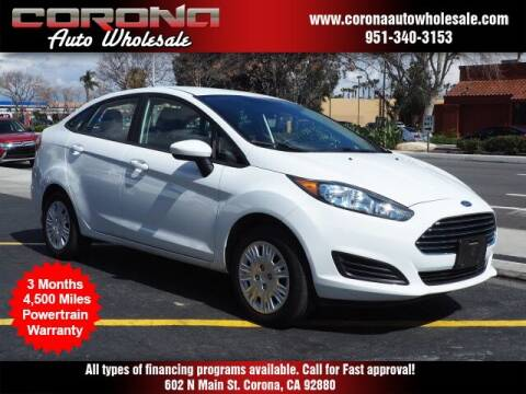 2019 Ford Fiesta for sale at Corona Auto Wholesale in Corona CA