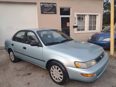 1995 Toyota Corolla for sale at Sparks Auto Sales Etc in Alexis NC