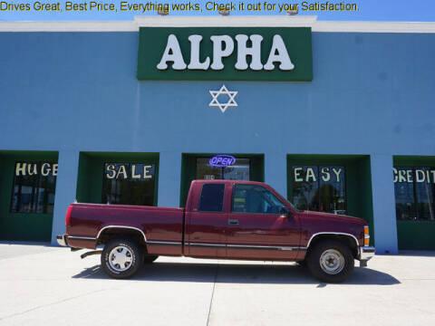 1999 Chevrolet C/K 1500 Series for sale at ALPHA AUTOMOBILE SALES, LLC in Lafayette LA