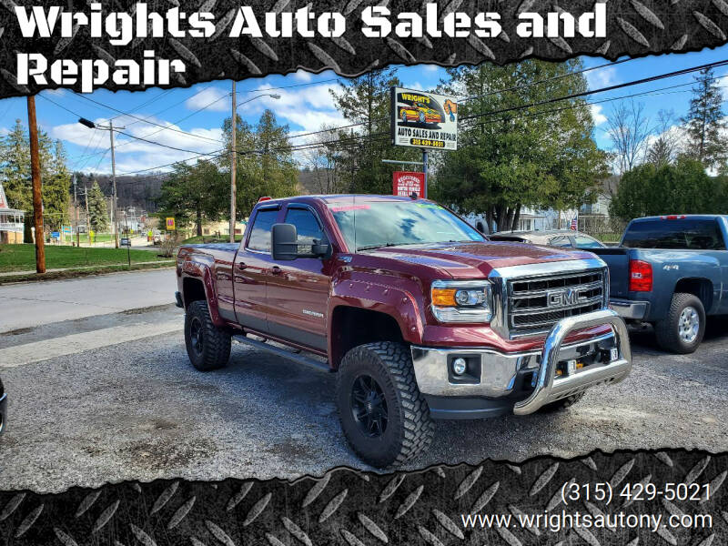 2014 GMC Sierra 1500 for sale at Wrights Auto Sales and Repair in Dolgeville NY