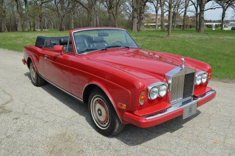 1991 Rolls-Royce Corniche for sale at Park Ward Motors Museum - Park Ward Motors in Crystal Lake IL