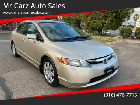 2008 Honda Civic for sale at Mr Carz Auto Sales in Sacramento CA