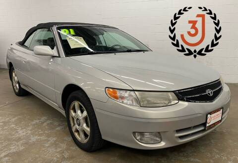 2001 Toyota Camry Solara for sale at 3 J Auto Sales Inc in Arlington Heights IL