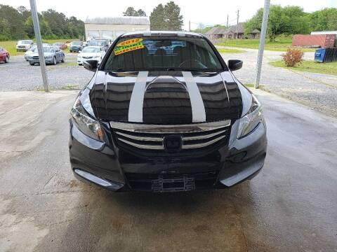 2012 Honda Accord for sale at Auto Guarantee, LLC in Eunice LA