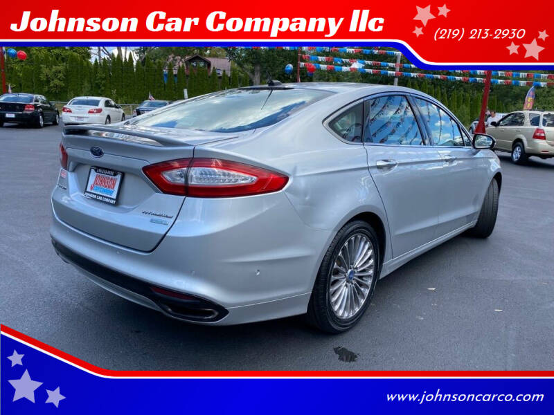 2013 Ford Fusion for sale at Johnson Car Company llc in Crown Point IN