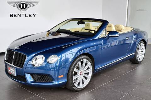 2015 Bentley Continental for sale at Bespoke Motor Group in Jericho NY