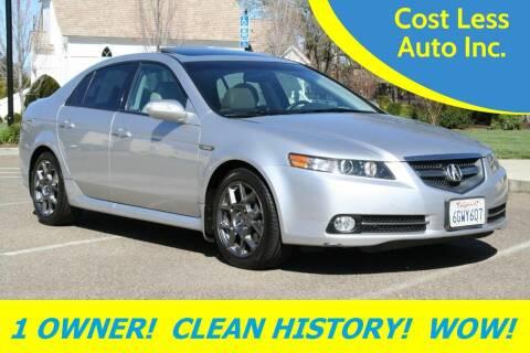 2007 Acura TL for sale at Cost Less Auto Inc. in Rocklin CA