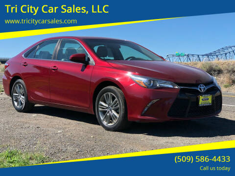 2017 Toyota Camry for sale at Tri City Car Sales, LLC in Kennewick WA