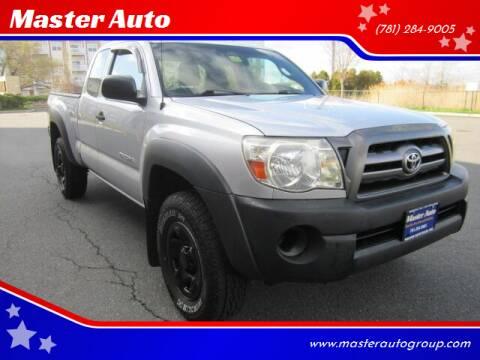 2010 Toyota Tacoma for sale at Master Auto in Revere MA