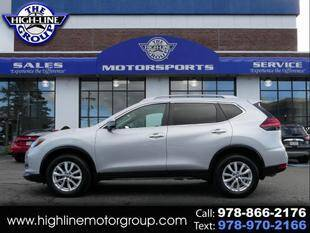 2017 Nissan Rogue for sale at Highline Group Motorsports in Lowell MA