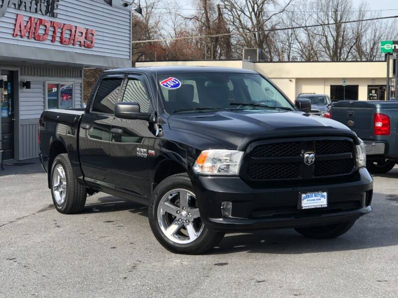 2013 RAM Ram Pickup 1500 for sale at Jarboe Motors in Westminster MD