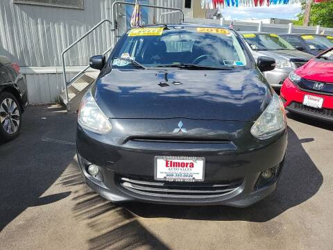2015 Mitsubishi Mirage for sale at Elmora Auto Sales in Elizabeth NJ