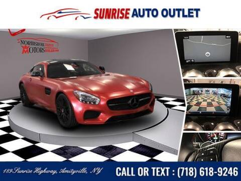2016 Mercedes-Benz AMG GT for sale at Sunrise Auto Outlet in Amityville NY