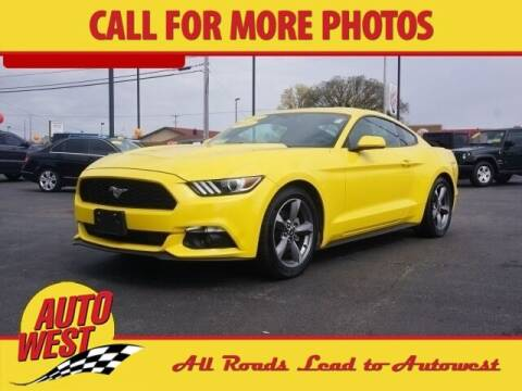 2017 Ford Mustang for sale at Autowest of Plainwell in Plainwell MI