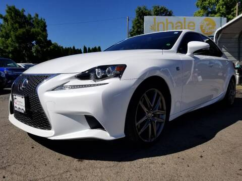 2014 Lexus IS 350 for sale at Universal Auto Sales in Salem OR