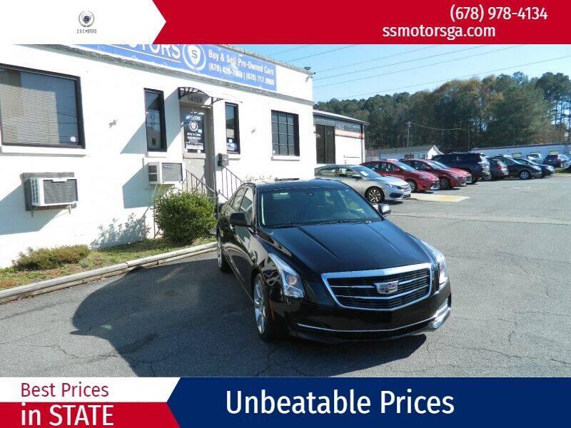 2016 Cadillac ATS for sale at S & S Motors in Marietta GA