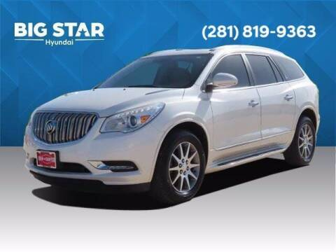 2015 Buick Enclave for sale at BIG STAR HYUNDAI in Houston TX