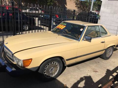 1981 Mercedes-Benz 380-Class for sale at MAX ALLEN AUTO SALES in Chicago IL