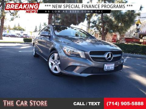2015 Mercedes-Benz CLA for sale at The Car Store in Santa Ana CA