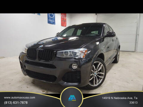 2016 BMW X4 for sale at Automaxx in Tampa FL