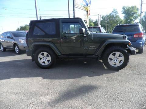 2007 Jeep Wrangler for sale at CRYSTAL MOTORS SALES in Rome NY