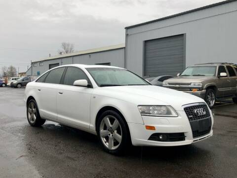 2008 Audi A6 for sale at DASH AUTO SALES LLC in Salem OR