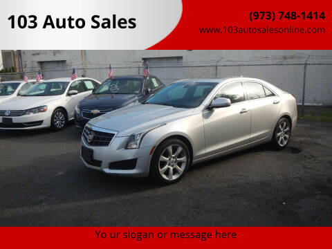 2013 Cadillac ATS for sale at 103 Auto Sales in Bloomfield NJ