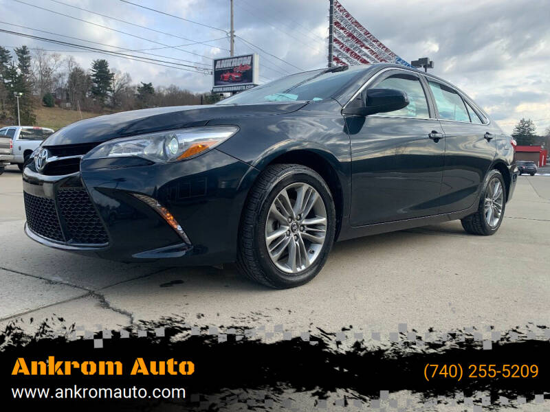 2017 Toyota Camry for sale at Ankrom Auto in Cambridge OH
