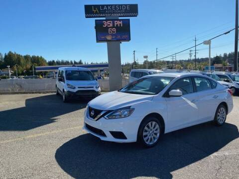2019 Nissan Sentra for sale at Lakeside Auto in Lynnwood WA