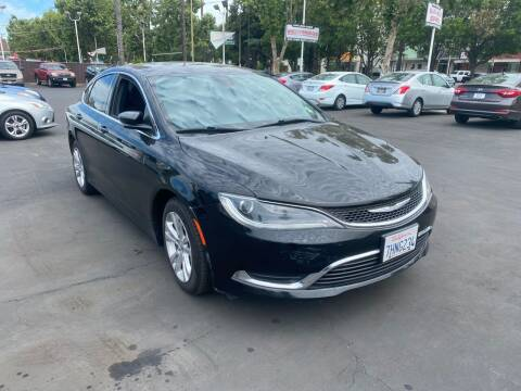 2015 Chrysler 200 for sale at San Jose Auto Outlet in San Jose CA