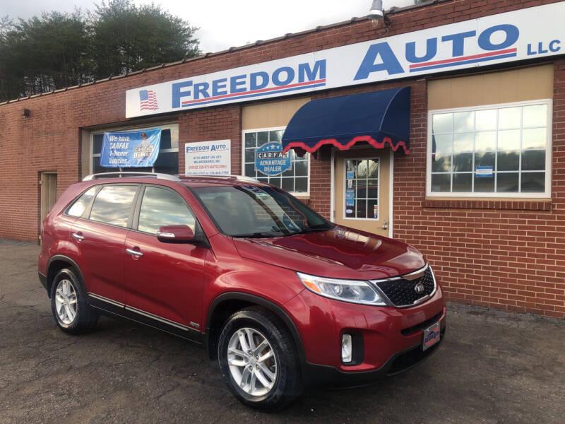 2014 Kia Sorento for sale at FREEDOM AUTO LLC in Wilkesboro NC