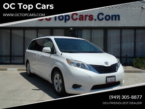 2012 Toyota Sienna for sale at OC Top Cars in Irvine CA