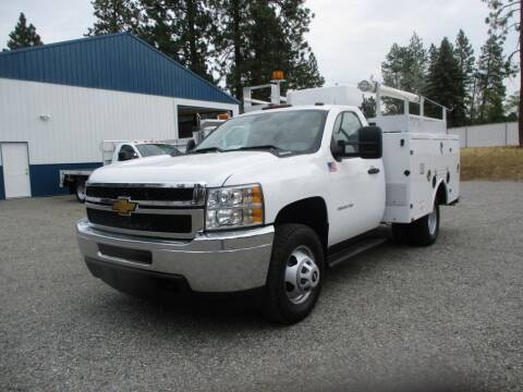 2013 Chevrolet 3500 HD UTILITY BED 4X4 for sale at BJ'S COMMERCIAL TRUCKS in Spokane Valley WA