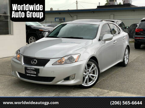 2007 Lexus IS 250 for sale at Worldwide Auto Group in Auburn WA