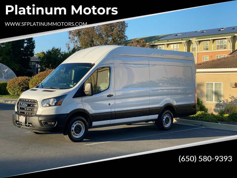 2020 Ford Transit Cargo for sale at Platinum Motors in San Bruno CA