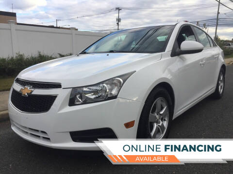 2014 Chevrolet Cruze for sale at New Jersey Auto Wholesale Outlet in Union Beach NJ