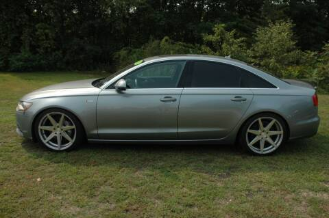 2012 Audi A6 for sale at Bruce H Richardson Auto Sales in Windham NH